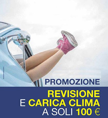 Promo revisione + ricarica clima